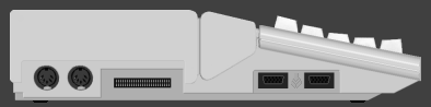 Atari STe - Side view by Dbug