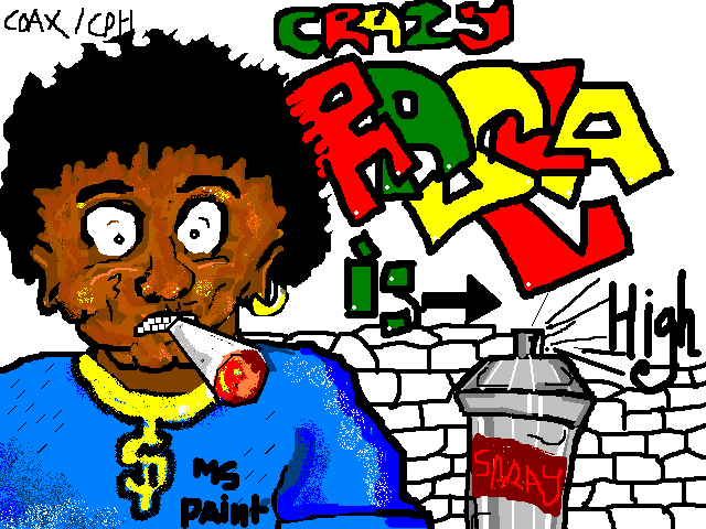 Crazy Rasta Is High by Coaxcable