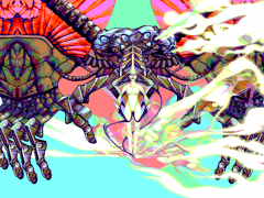 Flight of the Butterfly Matriarch aka What if my Amstrad CPC had an HD display - Party Version