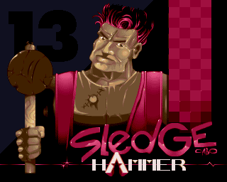 Sledge Hammer Titlepic by Cabo