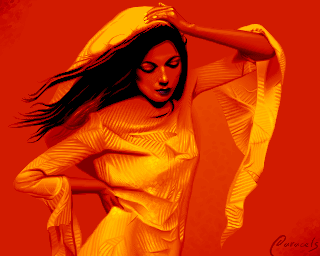 Red Wind of Fashion by Paracels