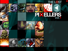 The Lost Pixellers vol. 1 - Main Menu