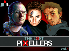 The Lost Pixellers vol. 1 - Title Screen
