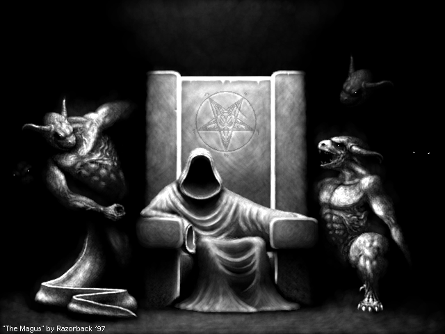 The Magus by Razorback