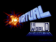Virtual World Logo