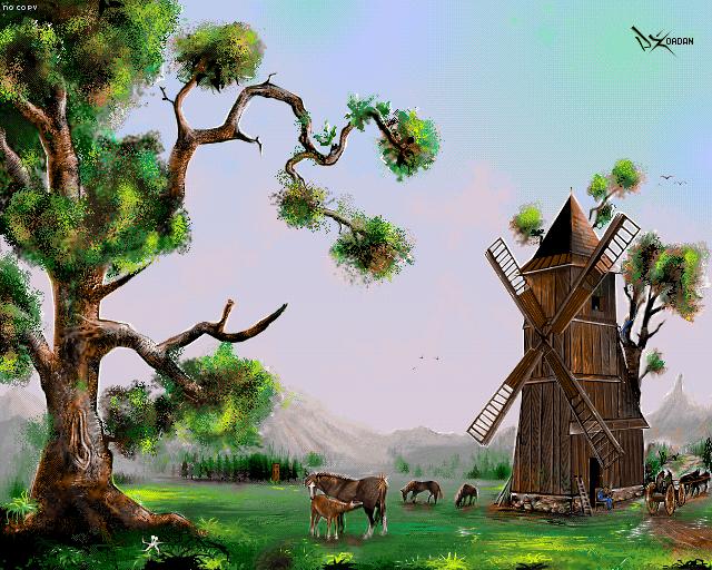 Wiatrak by Dzordan