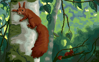 wiewiórki aka squirrels by PikkuMyy