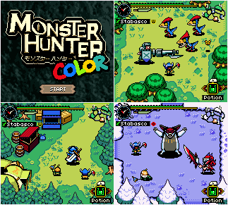 MONSTER HUNTER COLOR BIGGER by Army of Trolls