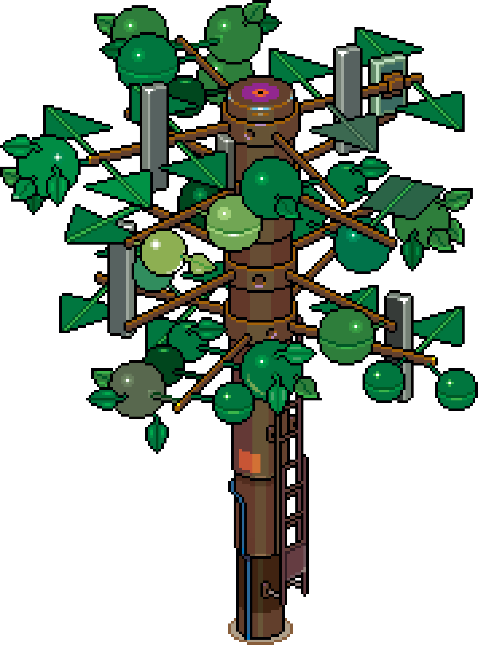 PT CellTowerTree short 01k 9x by eBoy