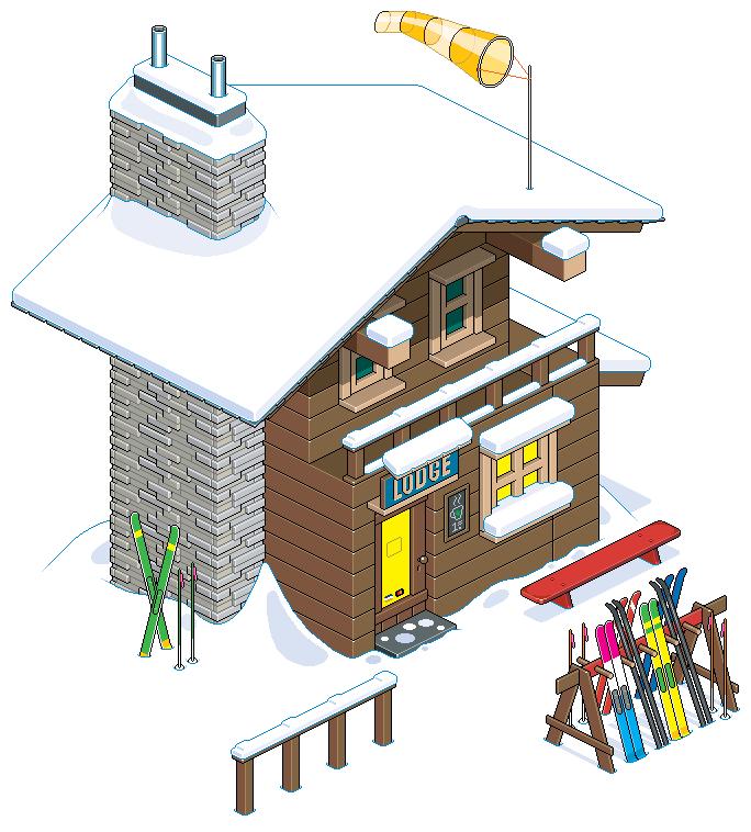 PT Paul Ski Lodge 02t by eBoy