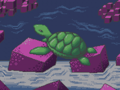The Dream of the Green Turtle aka Cubes