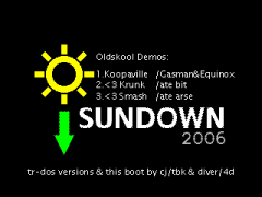 Sundown 2006 boot