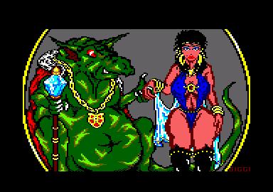 Woman and Dragons 2 by Siggi