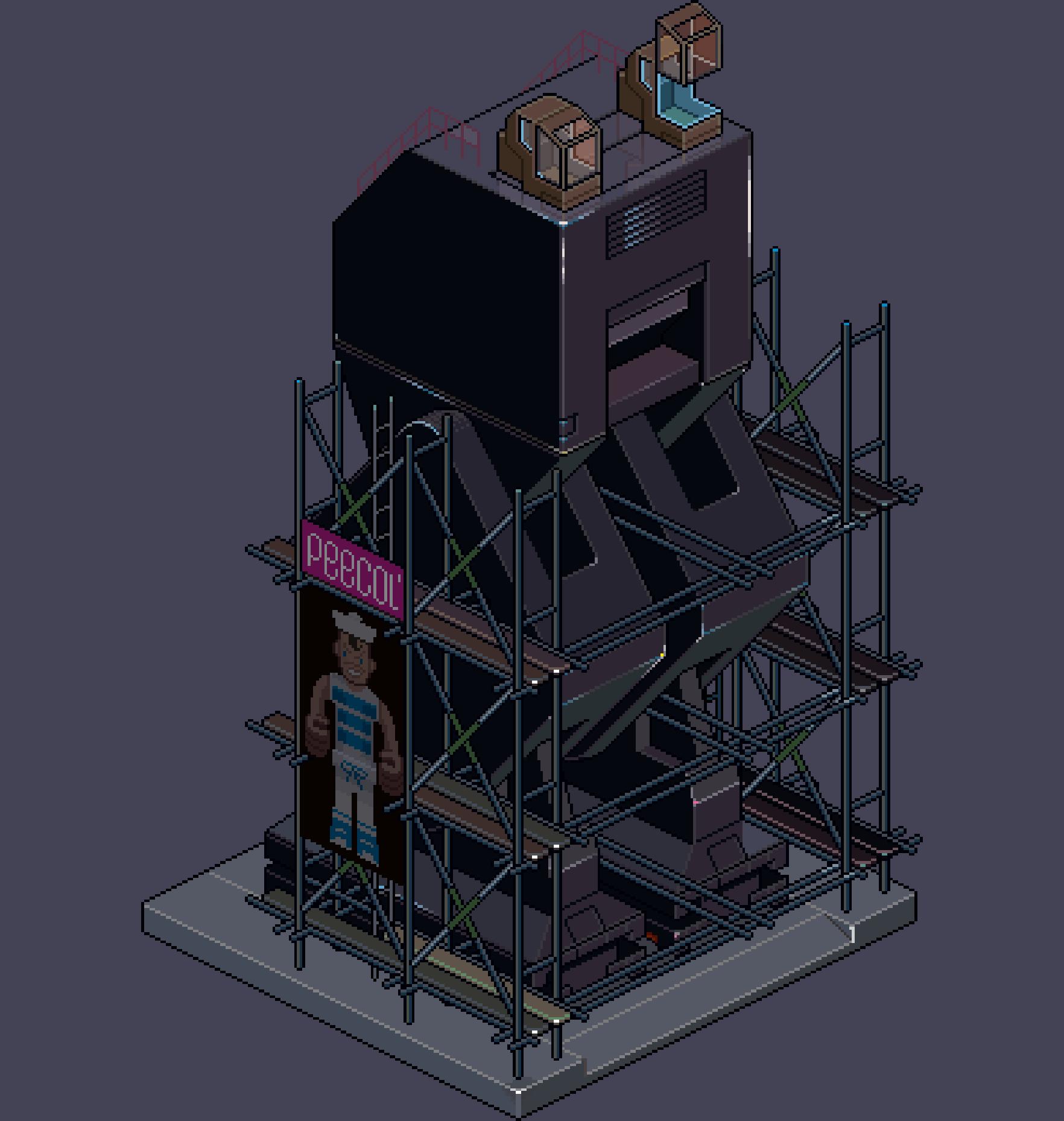 PT R2RobotCamouScaff NIGHT 03k 6x by eBoy